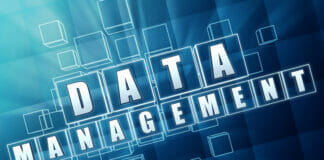 Data management in blue glass blocks