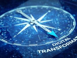 Digital Transformation concept - Compass needle pointing Digital Transformation word | © Sashkinw | Dreamstime Stock Photos