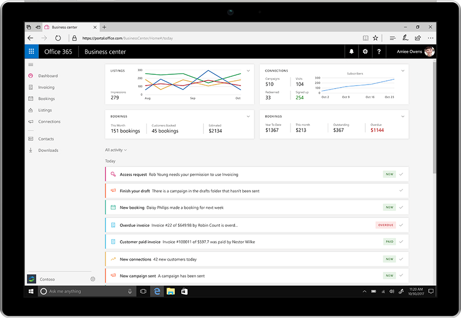 Office 365, Office 365 Business: disponibile con nuove App