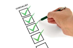 Basic checklist