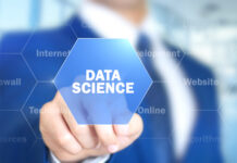 Data Science, Man Working on Holographic Interface, Visual Screen | © Stockbakery | Dreamstime Stock Photos | © Stockbakery | Dreamstime Stock Photos