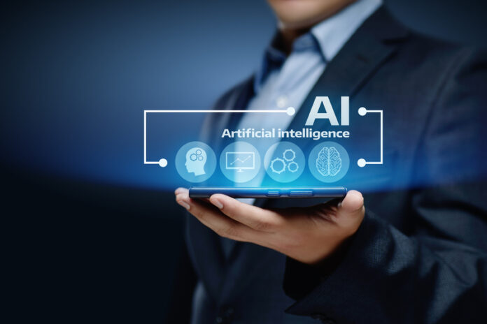 Artificial intelligence Machine Learning Business Internet Technology Concept