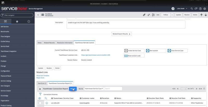 TeamViewer e ServiceNow più integrati - bizzIT it