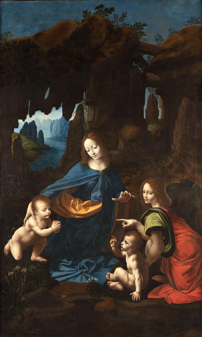 La Vergine delle Rocce del Borghetto, La Vergine delle Rocce del Borghetto visitabile a Milano