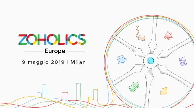 CRM in cloud, A Milano la Zoholics Conference  per le novità del CRM in cloud