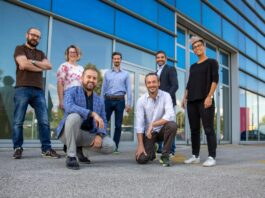 Il team della start-up Confirmo