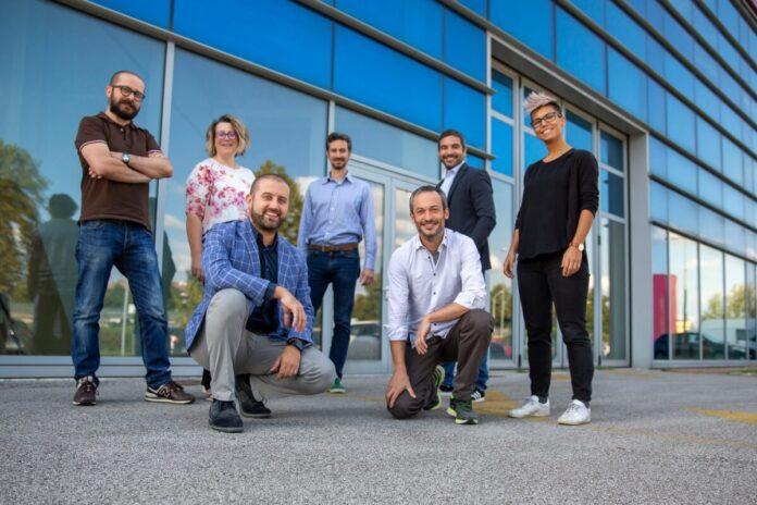 Il team della start-up Confirmo